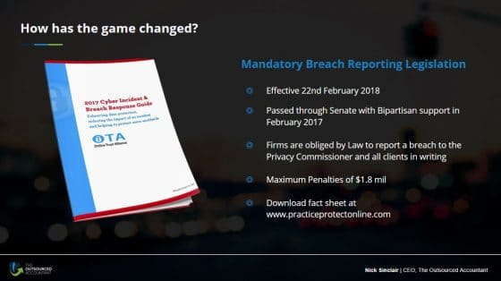 Cybersecurity update for accountants_mandatory breach reporting