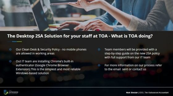 Cybersecurity update for accountants_toa 2sa solution for staff