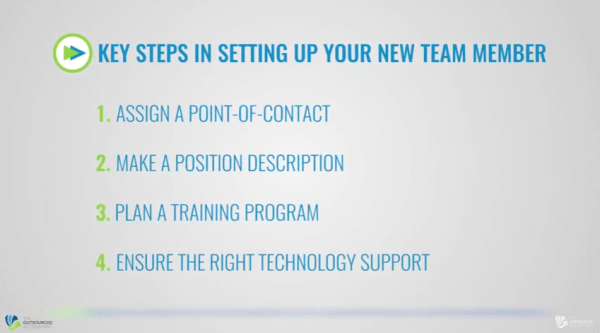 Fast Start Guide to offshoring - Setting up your new team member