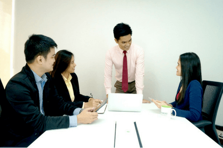 Outsourcing philippines - meeting