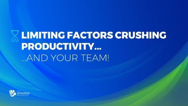 accounting-firm-productivity-limiting-factors